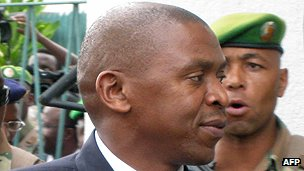 Burundian politician Agathon Rwasa
