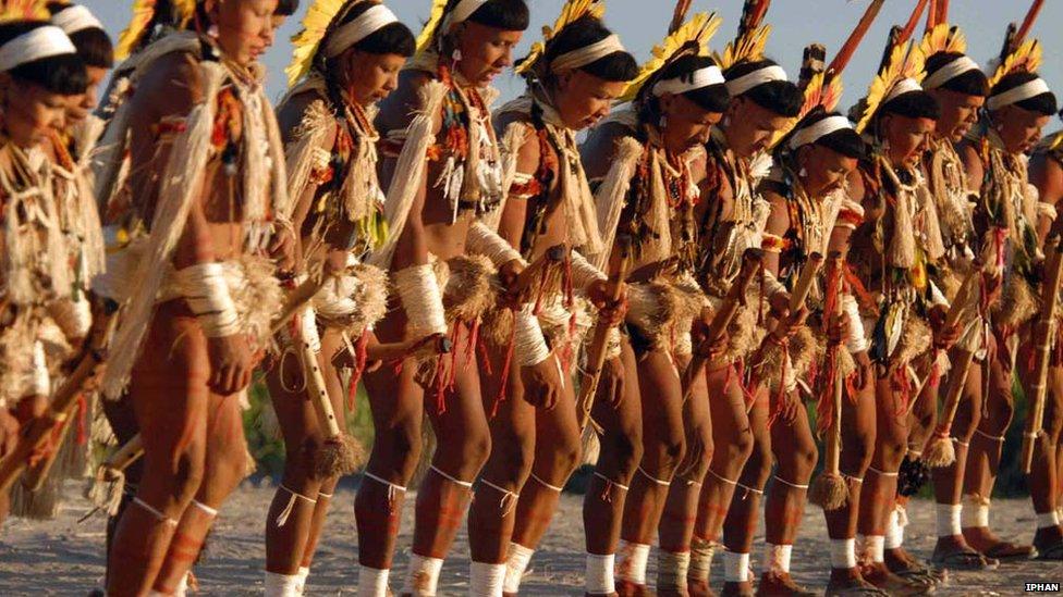 Индейские племена видео