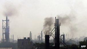 انتشار گازهای گلخانه ای
