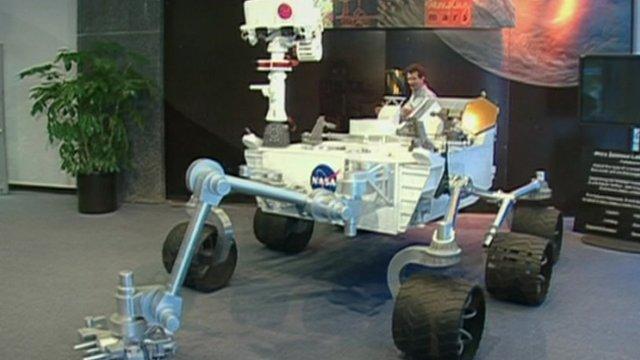Curiosity Rover full-scale model