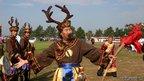 A Yimakan storyteller performing, north-east China