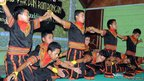 Young men from the Gayo people of Aceh province in Sumatra perform the Saman (2010)