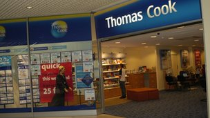 A Thomas Cook branch