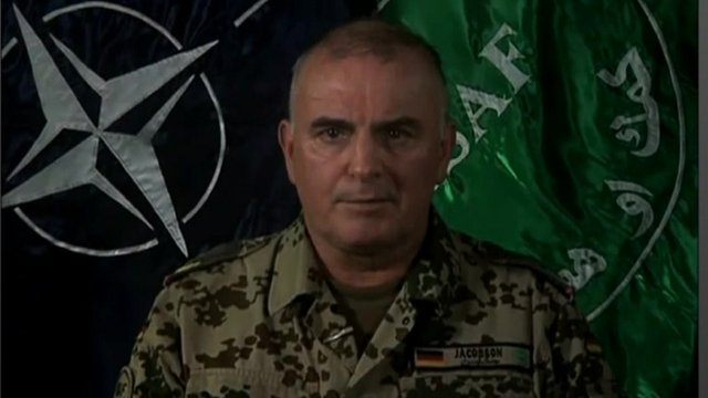 Brigadier-General Carsten Jacobsen, a spokesman for ISAF