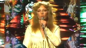 Andrea True appearing on the BBC's Top Of The Pops in 1976