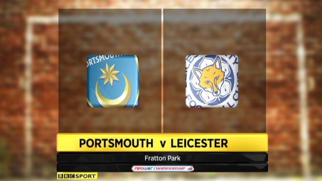 Highlights - Portsmouth 1-1 Leicester