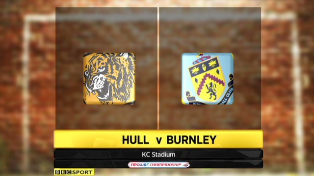 Highlights - Hull 2-3 Burnley