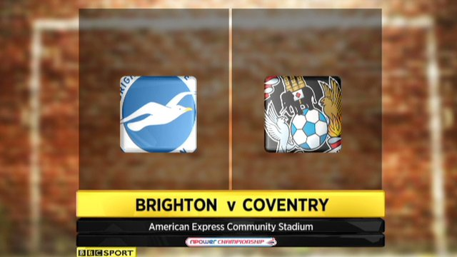 Brighton 2-1 Coventry