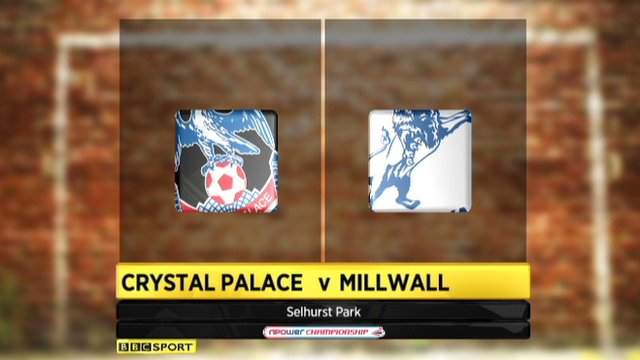 Highlights - Crystal Palace 0-0 Millwall