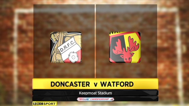 Highlights - Doncaster 0-0 Watford