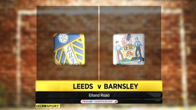 Highlights - Leeds 1-2 Barnsley