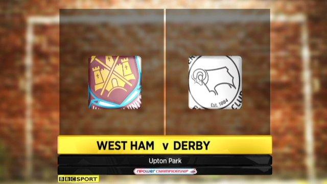 Highlights - West Ham 3-1 Derby