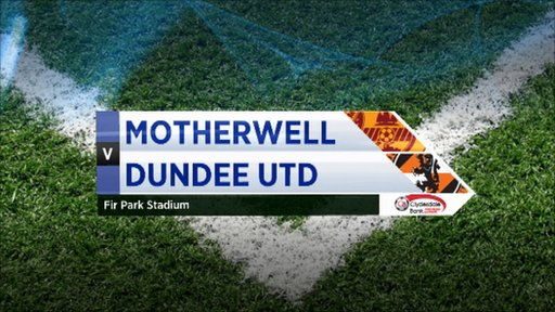Highlights - Motherwell 0-0 Dundee Utd