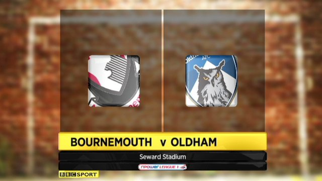 Highlights - Bournemouth 0-0 Oldham