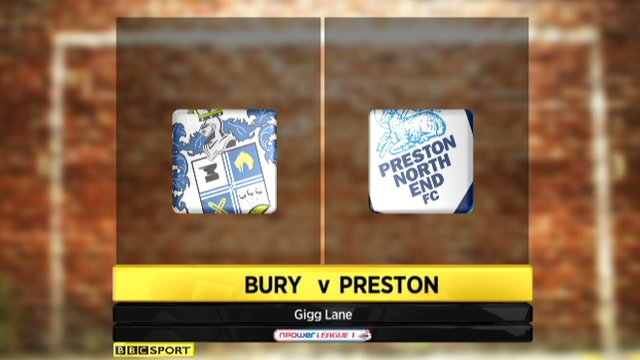 Highlights - Bury 1-0 Preston
