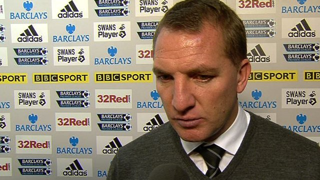 Swansea manager Brendan Rodgers