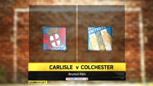 Highlights - Carlisle 1-0 Colchester