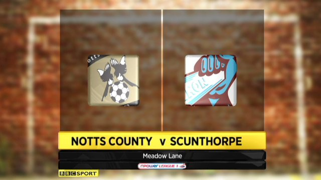 Highlights - Notts County 3-2 Scunthorpe