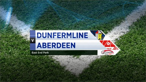 Highlights - Dunfermline 3-3 Aberdeen