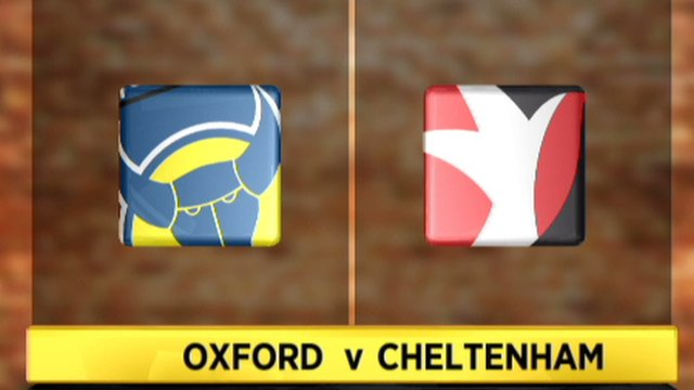 Highlights - Oxford Utd 1-3 Cheltenham