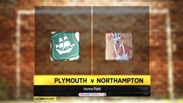 Highlights - Plymouth 4-1 Northampton