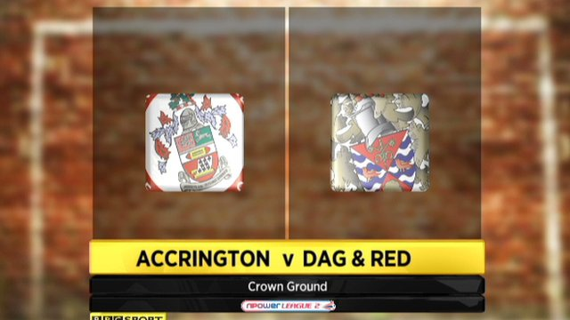 Highlights - Accrington 3-0 Dag and Red