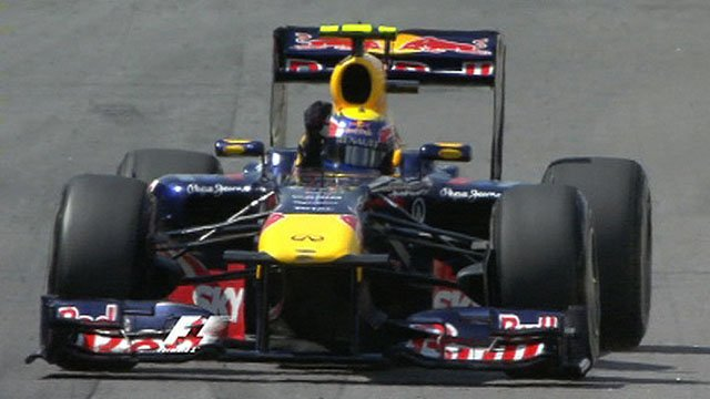 Mark Webber wins the Brazilian Grand Prix