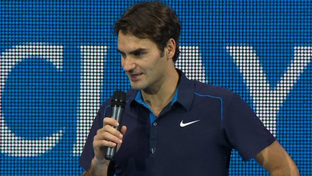 ATP Tour Finals winner Roger Federer