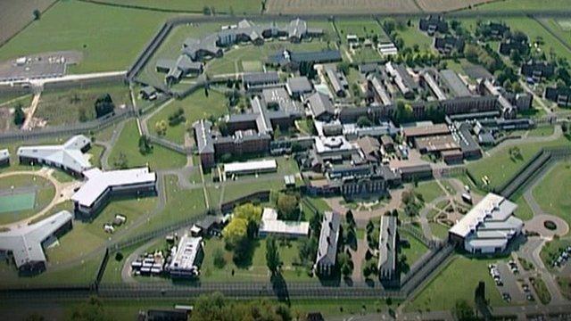 Ariel view of Rampton Hospital in Nottinghamshire