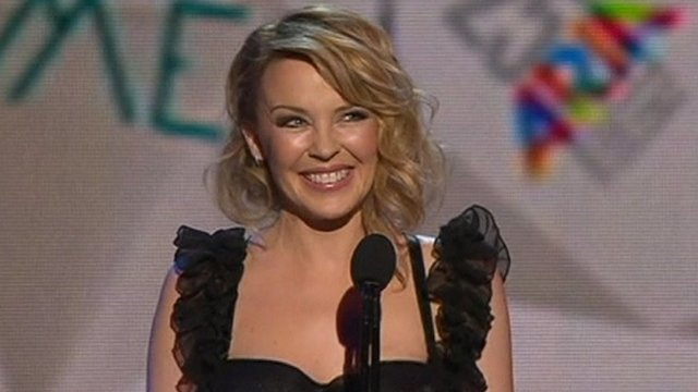 Kylie Minogue inducted into Aria hall of fame