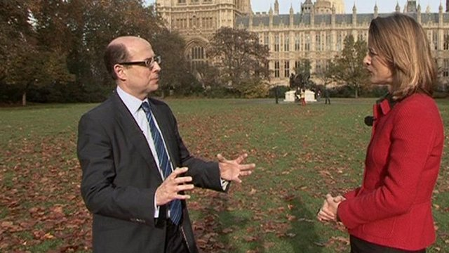 Economics Editor Stephanie Flanders and Political Editor Nick Robinson