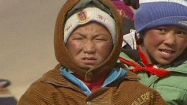 Children in Tibet