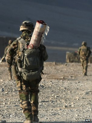 French troops in Afghanistan, 2010