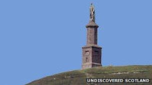 Duke of Sutherland memorial. Pic: Undiscovered Scotland