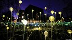 "Bruce Munro said the installation meant a lot to him because Australia was a ""hugely important"" part of his life"