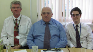 Richard Inch, Jim Green and Mark Barrett