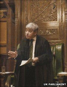John Bercow portrait by Brendan Kelly