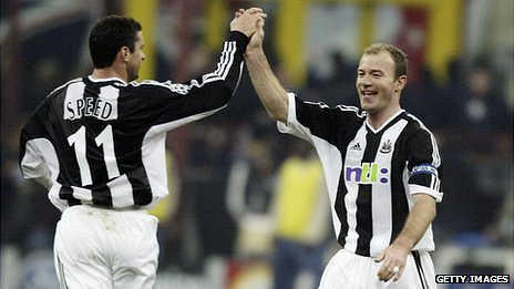 Gary Speed and Alan Shearer