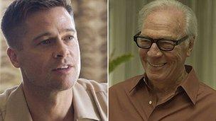 Brad Pitt and Christopher Plummer