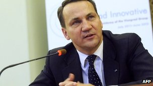 File picture of Radoslaw Sikorski