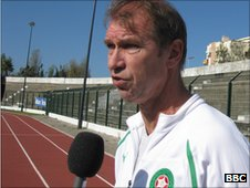 Morocco's Dutch coach Pim Verbeek