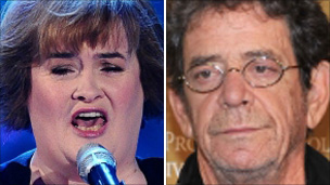 Susan Boyle and Lou Reed