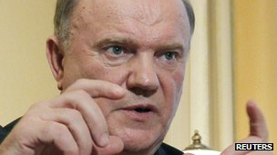 Russian Communist Party leader Gennady Zyuganov (17 Nov 2011)