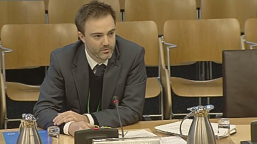 Duncan Wilson from the Scottish Human Rights Commission