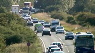 Nottinghamshire's A453