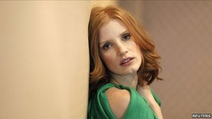 Actress Jessica Chastain, who stars in the movie Take Shelter, REUTERS/Mario Anzuoni