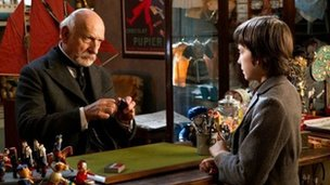 Sir Ben Kingsley and Asa Butterfield in Hugo