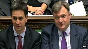 Ed Miliband and Ed Balls