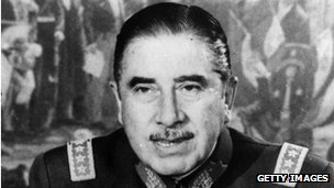 File photo of Augusto Pinochet