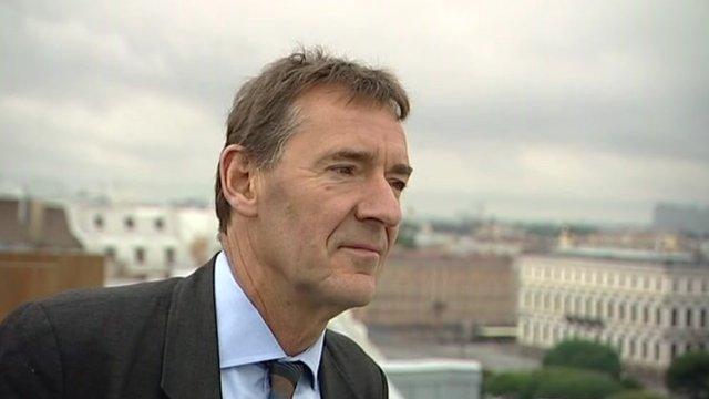 Jim O'Neill of Goldman Sachs who coined the term BRICs